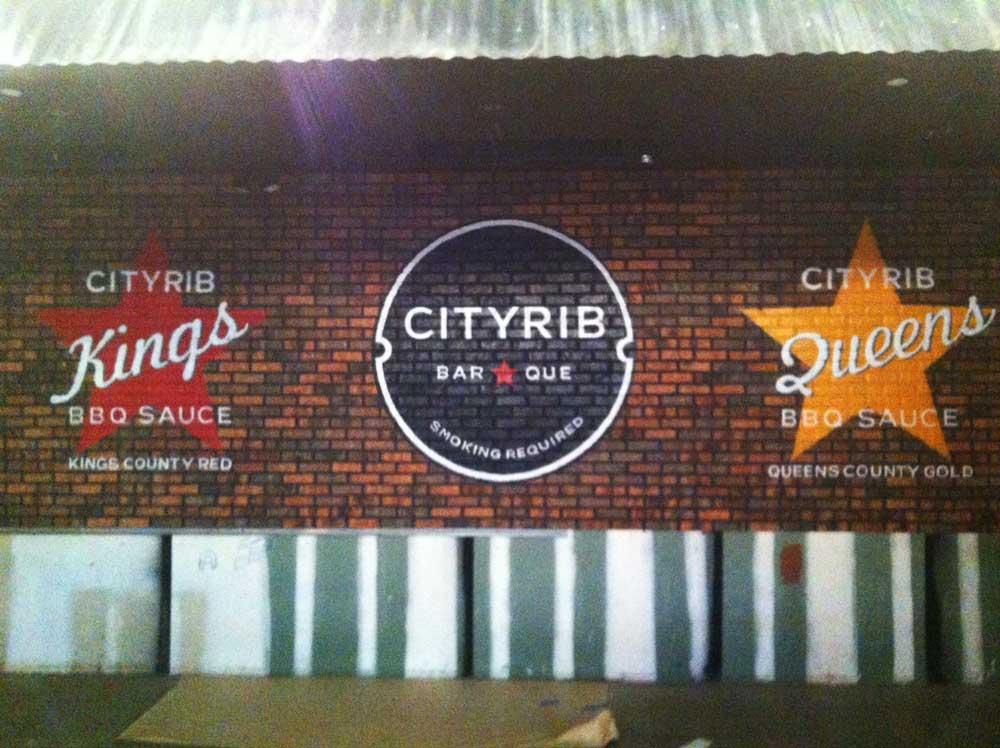 Cityrib Wall