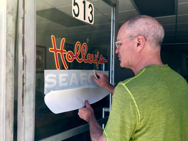Holley's Seafood Vinyl-Maplewood NJ