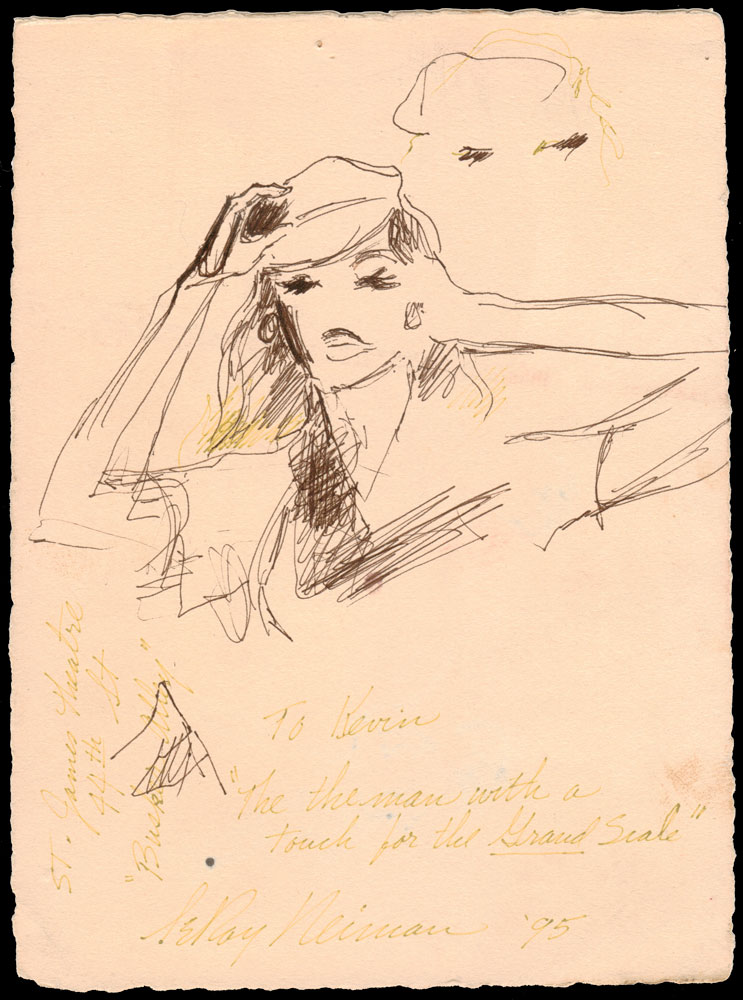 A Gift From LeRoy Neiman