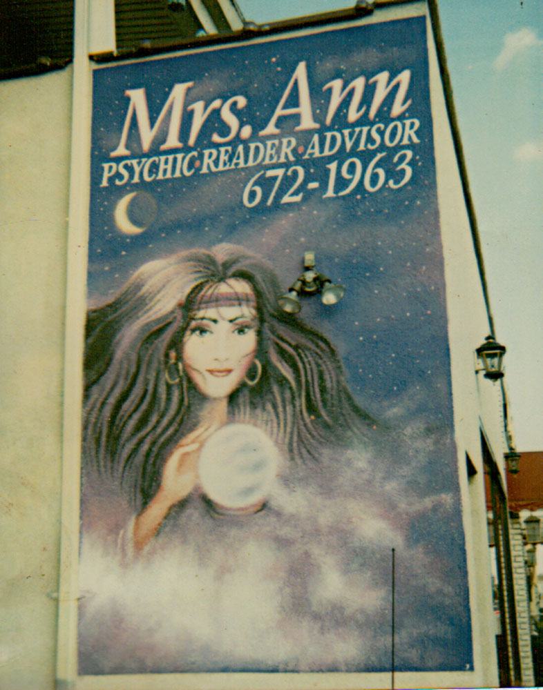 Mrs. Ann-She knew that I would answer the phone!