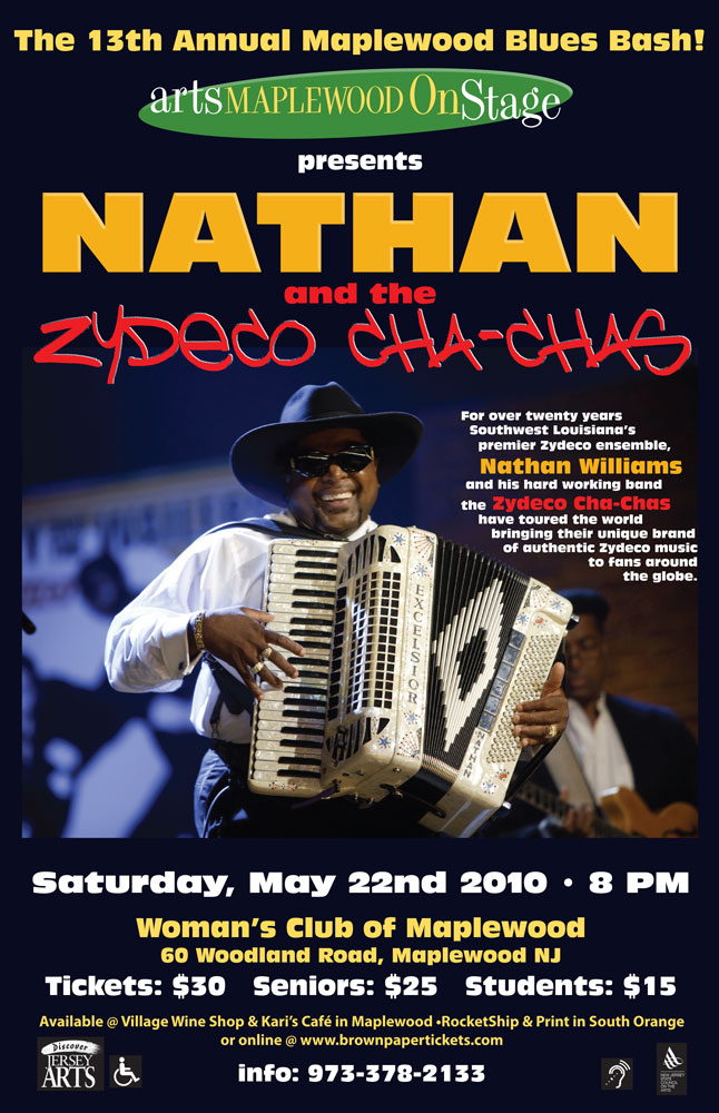 Nathan Zydeco Poster