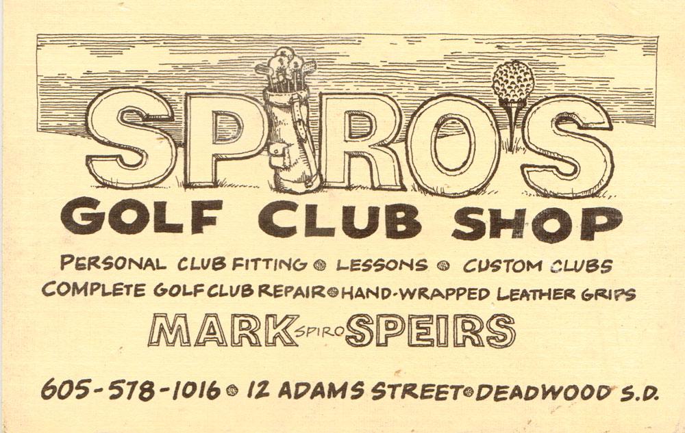 Spiro's Card