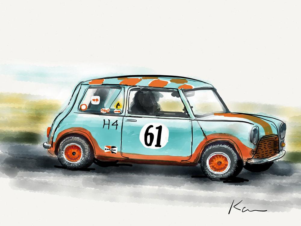 Bruce Whipple's Mini @ Speed