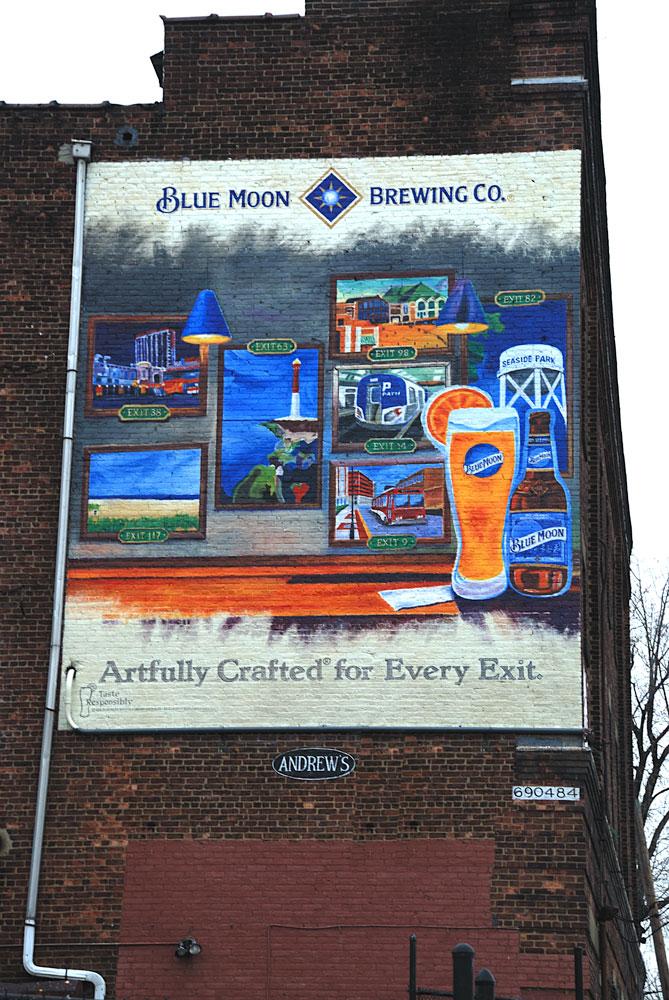 Blue Moon Brewing  Newark NJ
