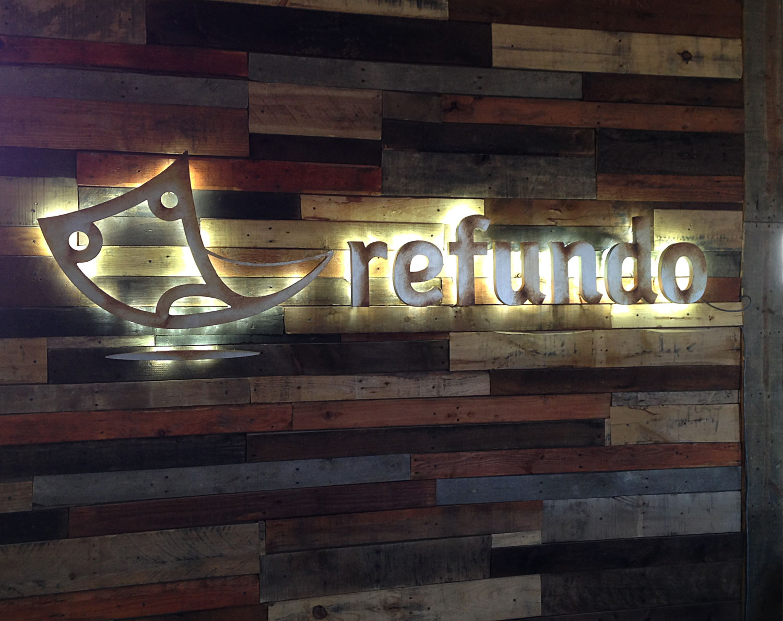 Refundo-Electrified Rusticated...Foamcore?