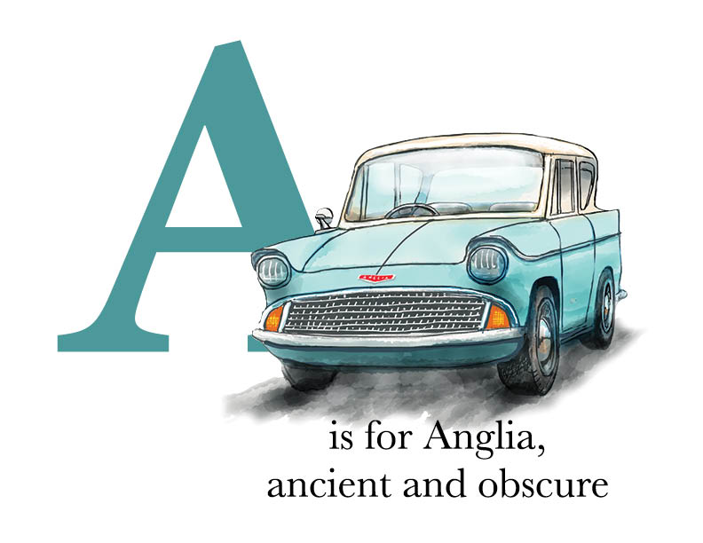 A is for Anglia