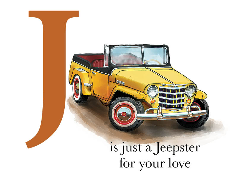 J is for Jeepster