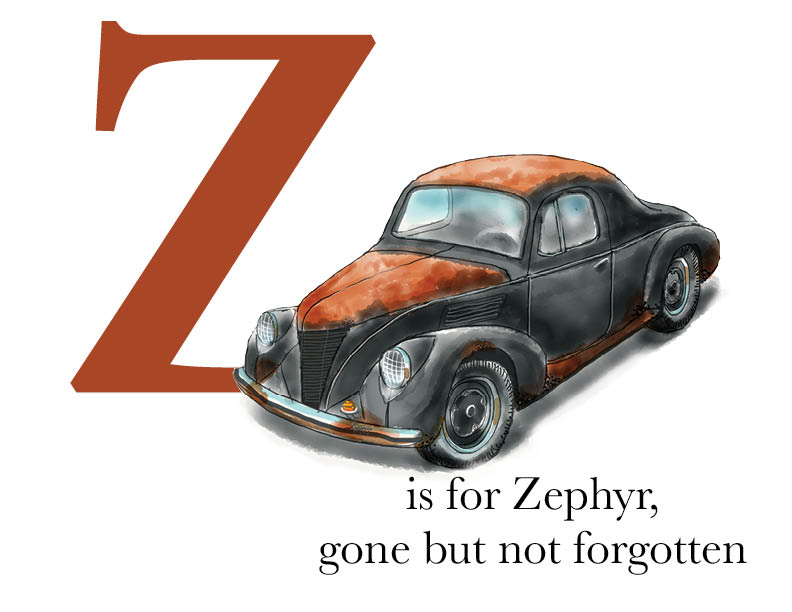 Z is for Zephyr