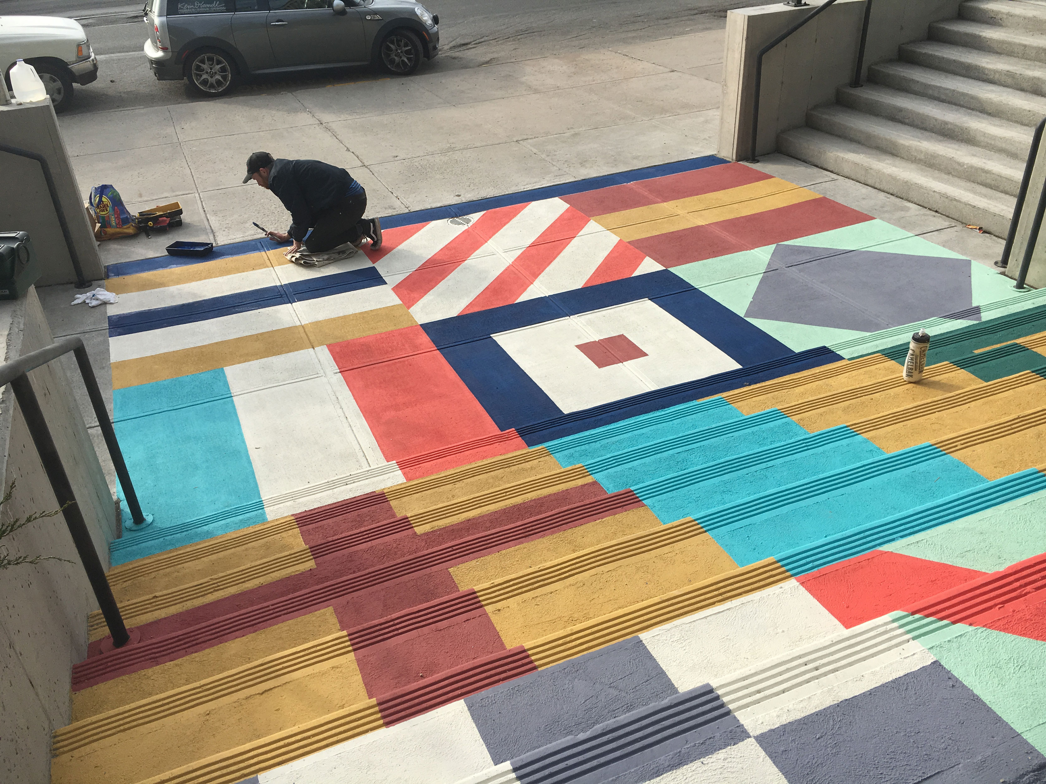 IC Flag Steps Declan